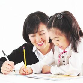 写作业,大连家政,大连爱恩,育儿